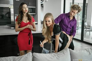 What does it mean to be the perfect maid? According to Nicole Aniston, it's not only about cleaning and dusting the household—but making sure to get down and dirty! Watch as this busty submissive slut not only keeps things fresh, she does it while getting