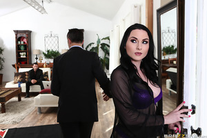 """Veruca James is a horny housewife who has been after her husband to give her something she's always desired: anal sex. With her husband refusing to fuck her in the ass, Veruca turns to writing to a women's help blog known only as """"Dear Keira"""" for some adv"""