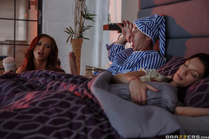 When his wife isn't interested in putting out, Danny D resorts to using his flesh-light to jack himself off. Only, to his surprise, the fleshlight begins to feel realistic--as in, suddenly it feels a lot like being inside Nikki Benz! She arrives in the di