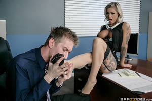 Kleio Valentien is the C.E.O. of her own company. Lately, she's seen a dip in productivity at the workplace and does her best to please her employees to the best of her business abilities. But even with all the salary increases, benefits and personal days