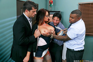 Tory Lane has always been a bitchy boss, but this year she's really outdone herself. When her employees find out she spent their Christmas bonuses they're ready to quit. Tory realizes the only way to save her business, and Christmas, is to offer up her se