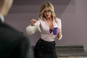 Jessa can't stop fucking up at her new job. When CEO Xander sees her on her hands and knees cleaning up latest mess, things are about to get a whole lot messier. She can't say no to cock belonging to such a powerful man, and he can't stay away from her bi