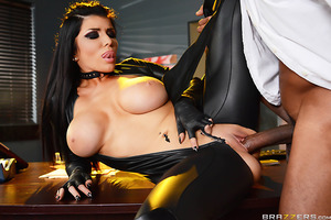 Sexy assassin Romi Rain has blown and shot her way out of two sticky situations in one night, and now she wants a reward from her boss Stallion. He wants nothing to do with her, but she's never had trouble seducing this married man in the past. He gives h