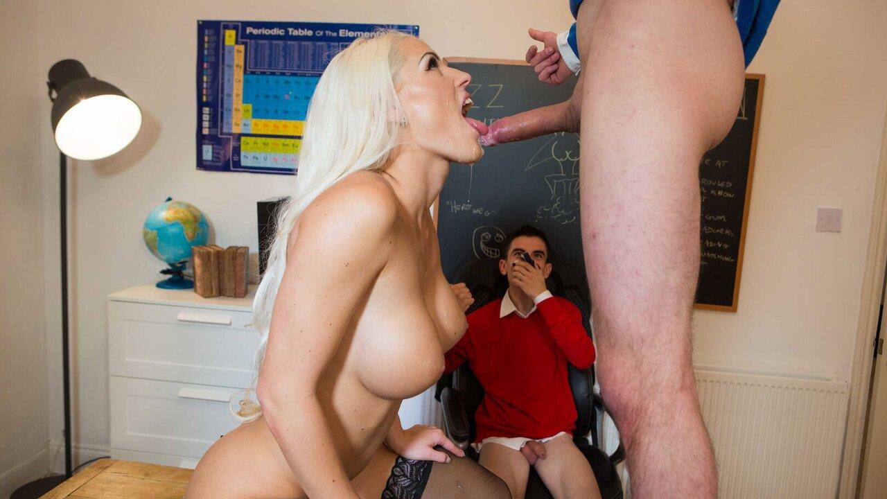 Blanche Bradburry Teacher Tease