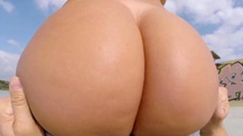 Franceska jaimes riding in yoga pants 3prn Com