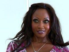 Ebony MILF professor Diamond Jackson seducing sex from student with huge dick  2089955